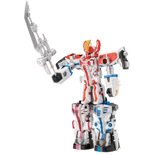 Power Rangers Operation Overdrive Triple Transforming Megazord - Set A