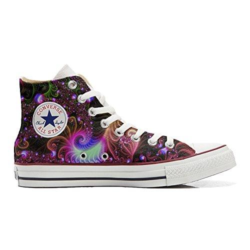 Converse All Star Chaussures Coutume (produit artisanal) Disco Fantasy