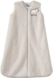 Halo Sleepsack Sherpa Wearable Blanket, Cream, Medium (Discontinued by Manufacturer)
