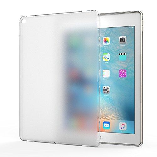 MoKo Apple iPad Pro Case - Custodia Paraurti Flessibile morbida pelle di silicone trasparente di TPU gomma glassata copertura per iPad Pro 12.9 inches iOS 9 Tablet, Crystal Clear