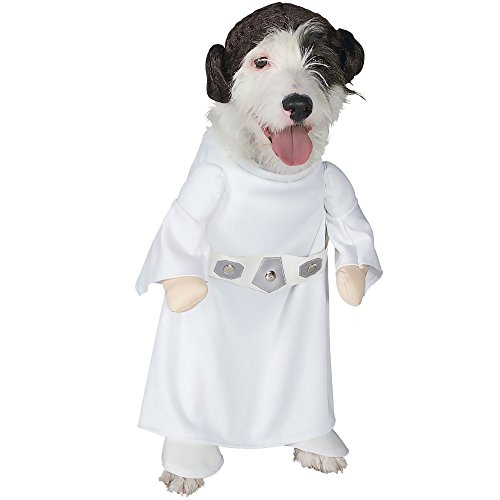 Rubies Costume Star Wars Collection Pet Costume, Princess Leia, Small
