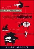 echange, troc Carl von Clausewitz - Principes fondamentaux de stratégie militaire