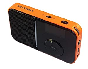 Mutant MIG-PIR-5 M-Wavio Portable Pocket-Sized WiFi Internet Radio
