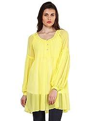 Oxolloxo Women yellow stylish tunic