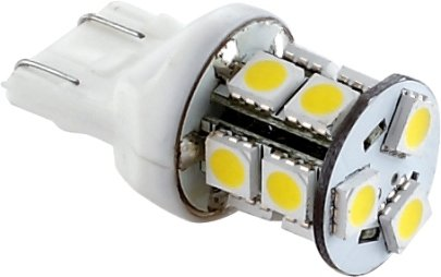 Green Longlife 5050145 Led Replacement Light Bulb With 7443/T20 Wedge Base 160 Lumens 12V Natural White