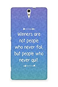 AMEZ but people who never quit Back Cover For Sony Xperia C5
