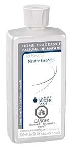 lampe berger 500ml 16 9 fluid ounces so neutral parfum de maison home kitchen. Black Bedroom Furniture Sets. Home Design Ideas