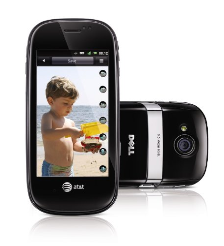 Dell Aero Unlocked Phone with Android OS, 5MP Camera, GPS and Wi-Fi – Black