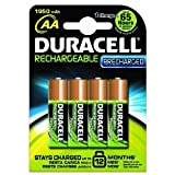 PreCharged Rechargeable 1950 mAh AA Batteries - 4-Pack