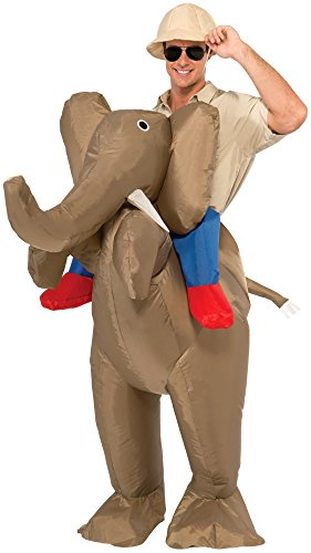 Forum Novelties Men's Ride An Elephant Inflatable Costume
