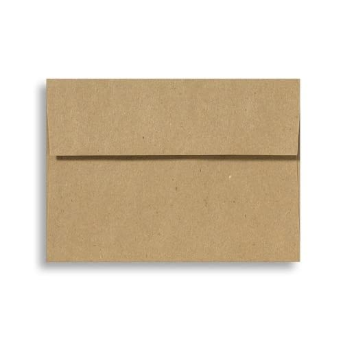 A6 Invitation Envelopes (4 3/4 x 6 1/2) - Grocery Bag (50 Qty.)