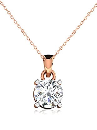 Friendly Diamonds Conjunto de cadena y colgante FDP6258R Oro Rosa