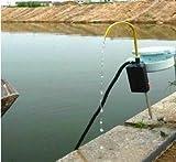 川でも海でも湖でも使用可能 自動吸引釣り キャンプ アウトドア用【汲み上げ 水ポンプ】