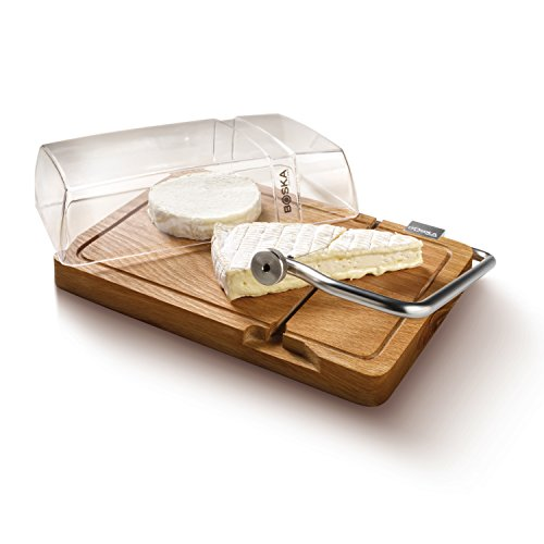 Boska Holland Life Collection Petit Paris Cutting Board and Lid, Natural (Butcher Trays With Lids compare prices)