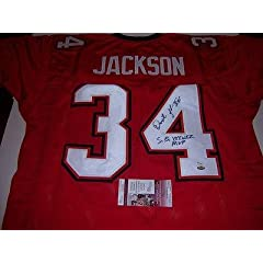 Buy Autographed Dexter Jackson Jersey - Sbxxxvii Mvp Jsa coa - Autographed NFL Jerseys by Sports Memorabilia