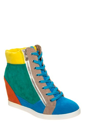 Highline High Wedge Sneaker