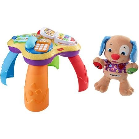 Fisher Price Laugh & Learn Table And Love To Play Puppy