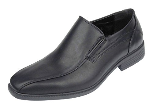 Aldo Rossini Men's Maine-2 Slip-On Loafer Dress Shoe (11 D(M) US, Black)