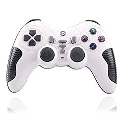 Mobilegear Wireless Bluetooth USB Gaming Single Player for Laptop & Computers - White