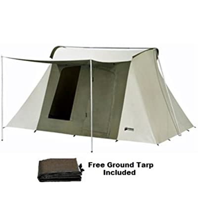 Kodiak Canvas Tents 10x14ft 8-person Tent with Tarp 6044 0514