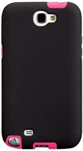 Case-Mate Tough CM024480 Case for Samsung Galaxy Note 2 (Black/Lipstick Pink)