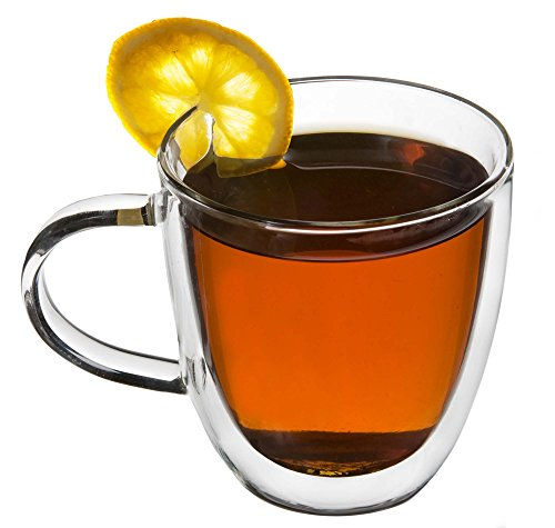 Find Cheap Tea Cup / Coffee Cup - Double Wall *Borosilicate Glass* 8.45oz (250ml) Artisan Glassworks...