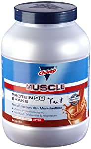 champ muscle protein 90 shake schoko 1er pack 1 x 810 g. Black Bedroom Furniture Sets. Home Design Ideas