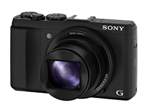 Sony DSC-HX50V/B 20.4MP Digital Camera with 3-Inch LCD Screen (Black)