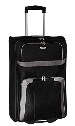 Travelite Orlando Trolley 63 cm, 62 l, Nero