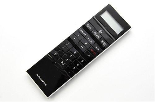amadana アマダナ スティック型 電子計算機 ブラック LC-304-BK