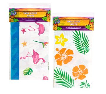 Table Cover Nappe 175464 Luau Plastic Table Covers 54