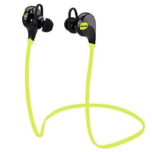 Sarlar &Trade; Bluetooth 4.1 Headset Wireless Stereo Sports Earphone Studio Music Handsfree Earpiece Headphone Sweatproof for Iphone Samsung Sports/running &Gym/hiking/jogger/exercise Sweatproof Bluetooth Earbuds Earpiece Hea