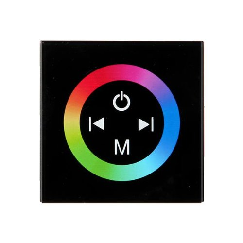 Rgb Led Light Strip Touch Panel Dimmer Controller 12-24V 12A 3 Channels