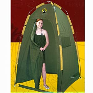Outdoor Stand Up Tent Portable Changing Room Cabana Privacy Shelter Tent (Carry Bag Included)