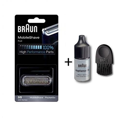 Braun 5S 5609, 370/575 PocketGo Foil & Frame (Braun Pocketgo Foil compare prices)