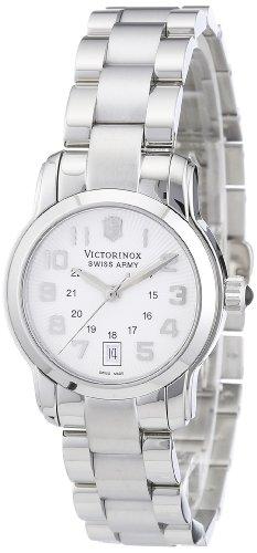 Victorinox Swiss Army Women's 241053 Vivante Silver Guilloche Dial Watch