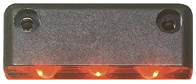 Innovative Lighting 003 Series 3-LED Step Light with Surface Mount