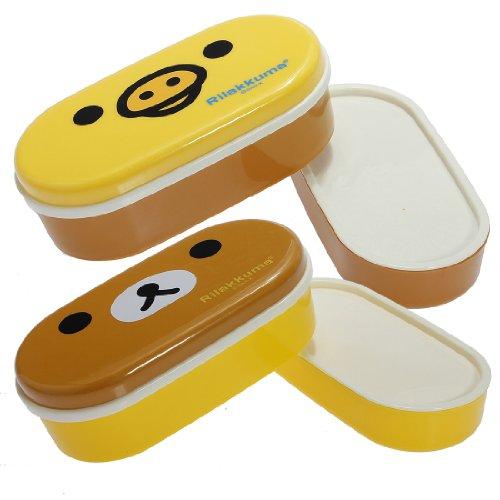 Bestmall scatola porta pranzo bento a 2 livelli - Borsa pranzo ikea ...