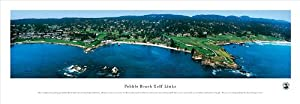 Pebble Beach - Panoramic Print - Poster