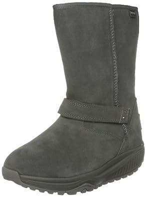 Skechers Womens Shape Ups XF - Bollard Boot,Charcoal,5.5 M US