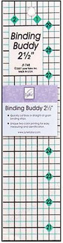 June Tailor 2-1/2-Inch Binding Buddy Ruler