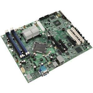 Intel S3200SH Server Motherboard - Intel 3200 Chipset - Socket T LGA-775 - 1 Pack. 3200 LGA775 QC MAX-8GB DDR2 SSI TEB PCIE16 PCIE8 2PCI VID GBE RAID ISP-MB. ATX - 1 x Processor Support - 8 GB DDR2 SDRAM Maximum RAM - Floppy Controller, Serial ATA/300 RAID Supported Controller - 1 x PCIe x16 Slot