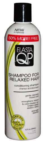 Elasta Qp Creme Conditioning Shampoo for Relaxed Hair Bonus 12 oz. (Pack of 6) (Elasta Qp Conditioning Shampoo compare prices)