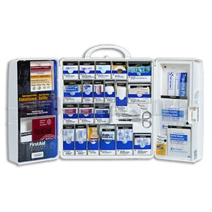 Smart Compliance Food Service Kit w/Meds, Large Plastic Cabinet - 1300-FAE-0103