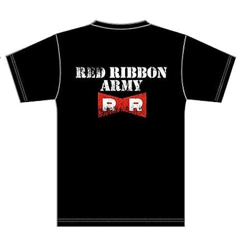 ドラゴンボールZ レッドリボン軍Tシャツ ブラック サイズ:L
