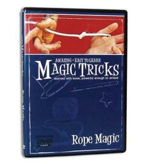 Amazing Easy to Learn Magic Tricks DVD: Rope Magic - 1