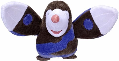 Pokemon Black White Series 2 Mini Plush Drilbur - 1