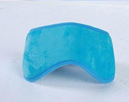 Starry USB ホット アイマスク 疲れ目 癒し USBグッズ (ブルー)