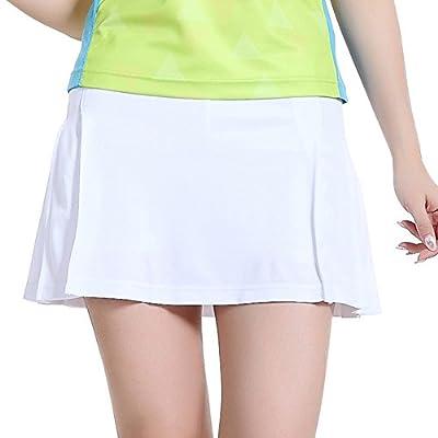 TopTie Girls Gym Skirt, Sportswear Pleated Skorts