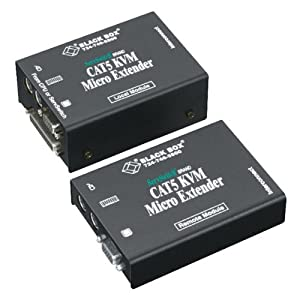 ServSwitch Brand CATx KVM Micro Extender Kit, Dual-Access